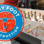 Un Nouveau Team Building : Le Baby Foot Construction