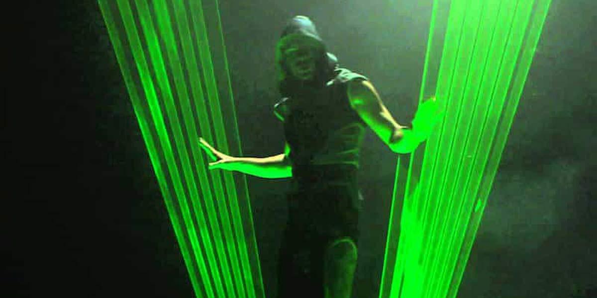 Show événementiel Human Laser
