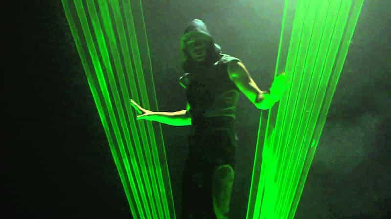 Human Laser Show Un Numero Un Spectacle Evenementiel