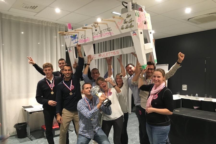 Team building-Baby foot construction-la-victoire
