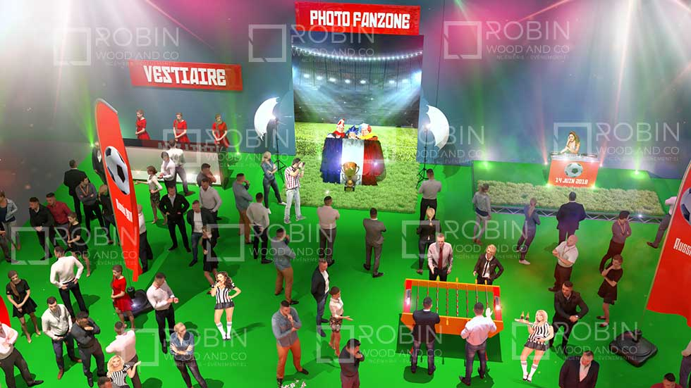 Soiree Coupe Du Monde 2018 - Animation Photo Supporters