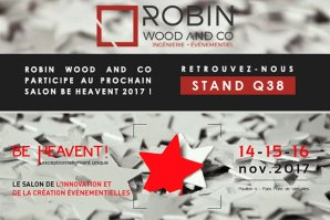 Retrouvez Robin Wood And Co Au Salon De L'événementiel Heavent !