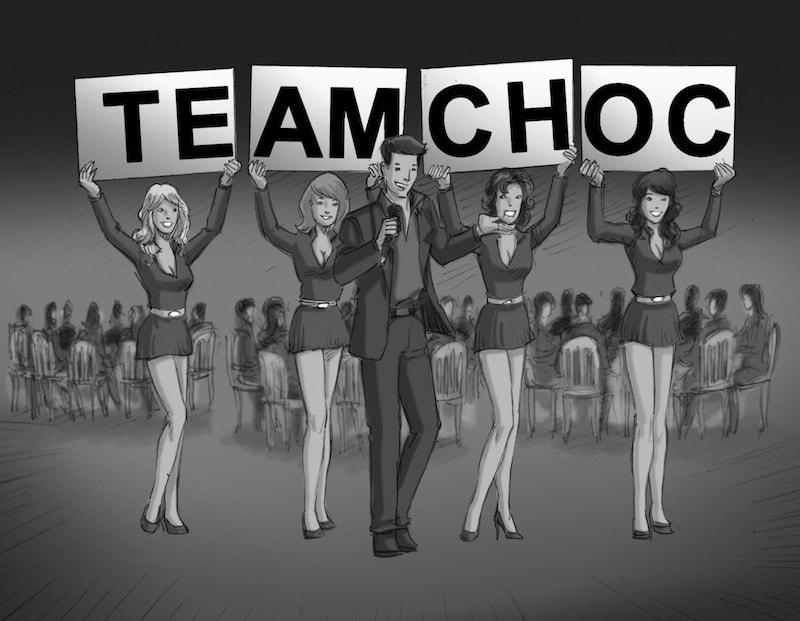 Team Building Team-choc