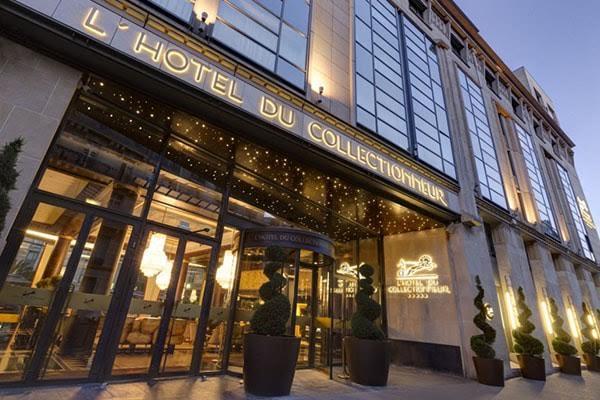 Evénementiel hôtellerie luxe Courcelles - entrée extérieur