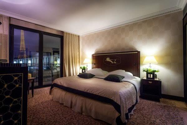Evénementiel hotellerie luxe Courcelles - la chambre