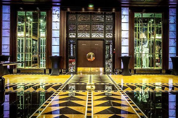 Evénementiel hotellerie luxe Courcelles - hall d'accueil