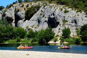 Incentive Avignon événementiel - Canoë En Groupe Sur Le Gardon