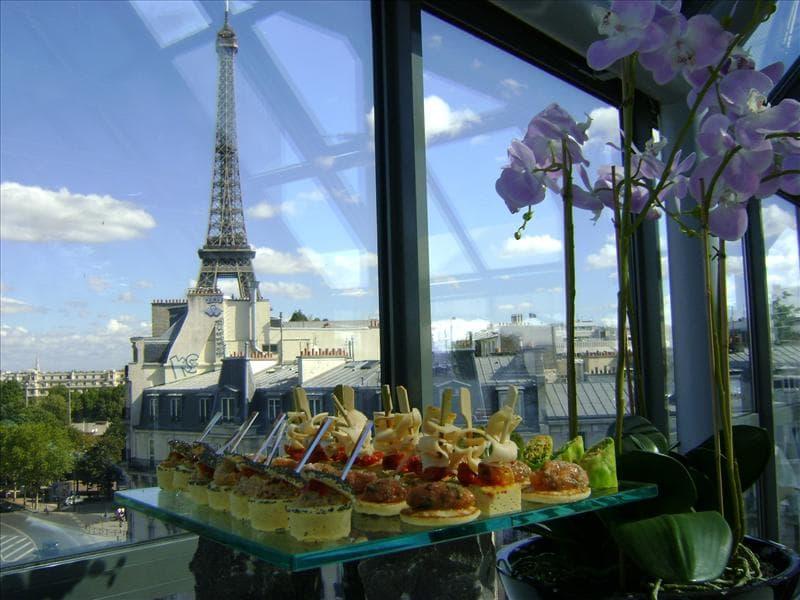 Lieu événementiel Rooftop Paris Pyramide - workshop d'entreprise