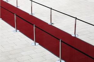 Inauguration Entreprise 100e - Tapis Rouge En Accueil