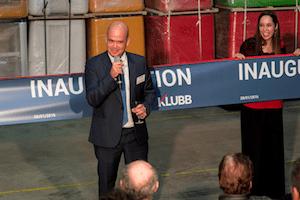 Inauguration Entreprise 100e - Ruban D'inauguration