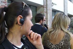 Inauguration Entreprise 100e - Casque Audio De Visite