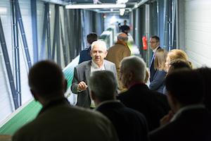 Inauguration Entreprise 100e - Visite D'usine Industrielle