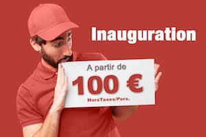 Inauguration entreprise 100e - combien coute une inauguration