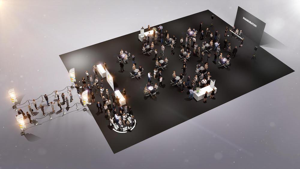 Inauguration entreprise 100e - événementiel packagé