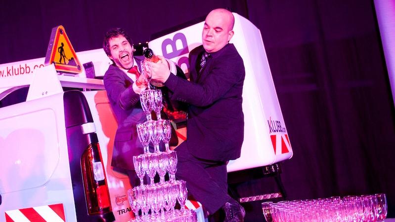 organisation soirée entreprise - animation soirée entreprise Paris - fontaine à champagne
