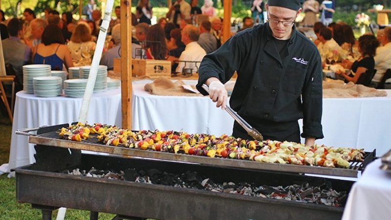 Garden party - Barbecue pour une family day