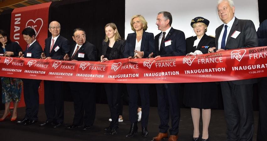 inauguration-événementielle - Inauguration Iris Ohyama