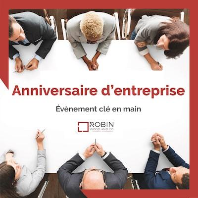Agence événementielle Paris - Organiser un anniversaire d'entreprise