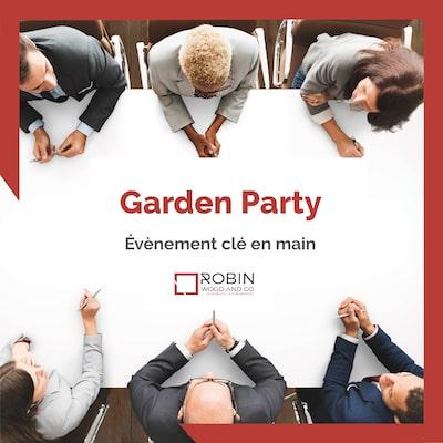 Organiser une garden party - Agence événementielle Paris