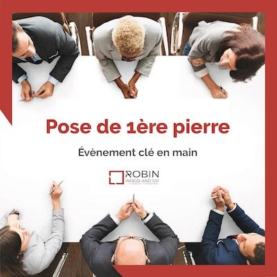Agence événementielle Paris - Organiser votre pose de la 1ère pierre