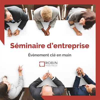 organisation séminaire entreprise - Agence événementielle Paris