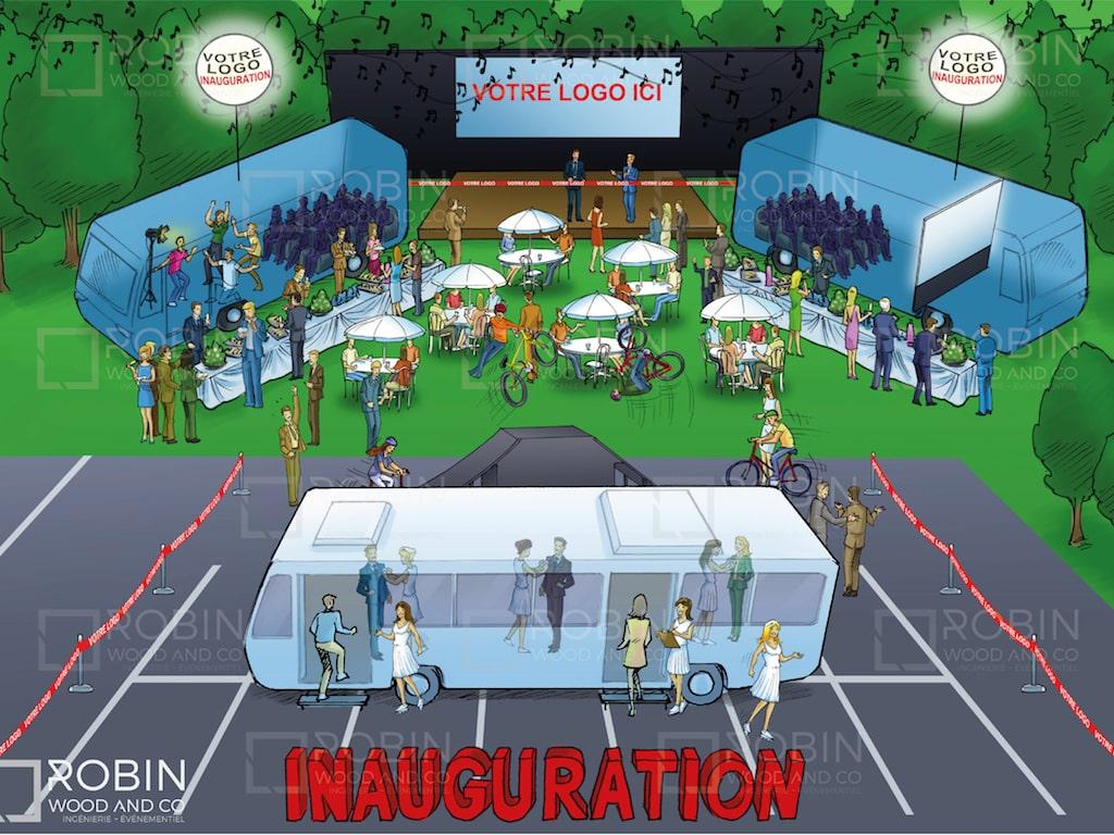 Inauguration Entreprise
