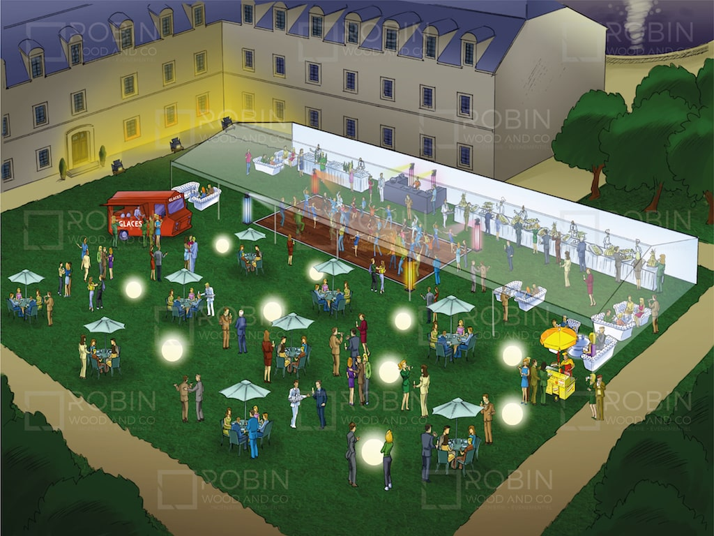 Organiser une garden party - saveurs d'été