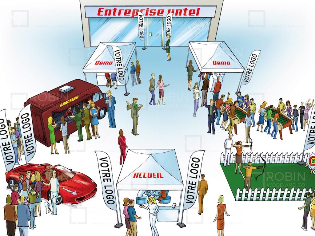 animer un workshop paris - Rough événement roadshow Networking