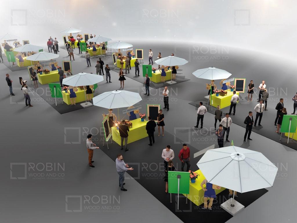 animer un workshop paris - Rough événement concept marché Networking