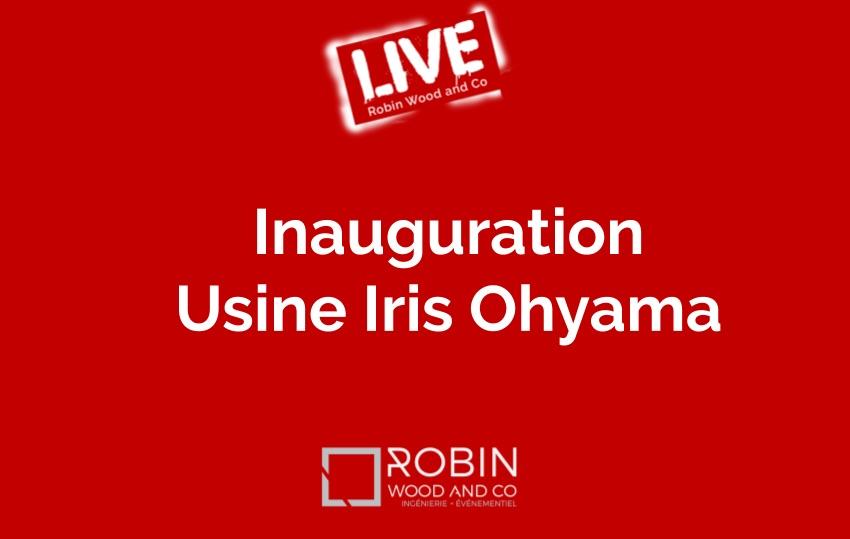 Inauguration Usine Iris Ohyama