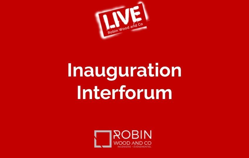 Inauguration Usine Interforum