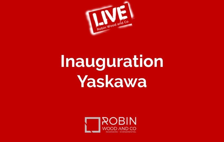 Inauguration Usine Yaskawa