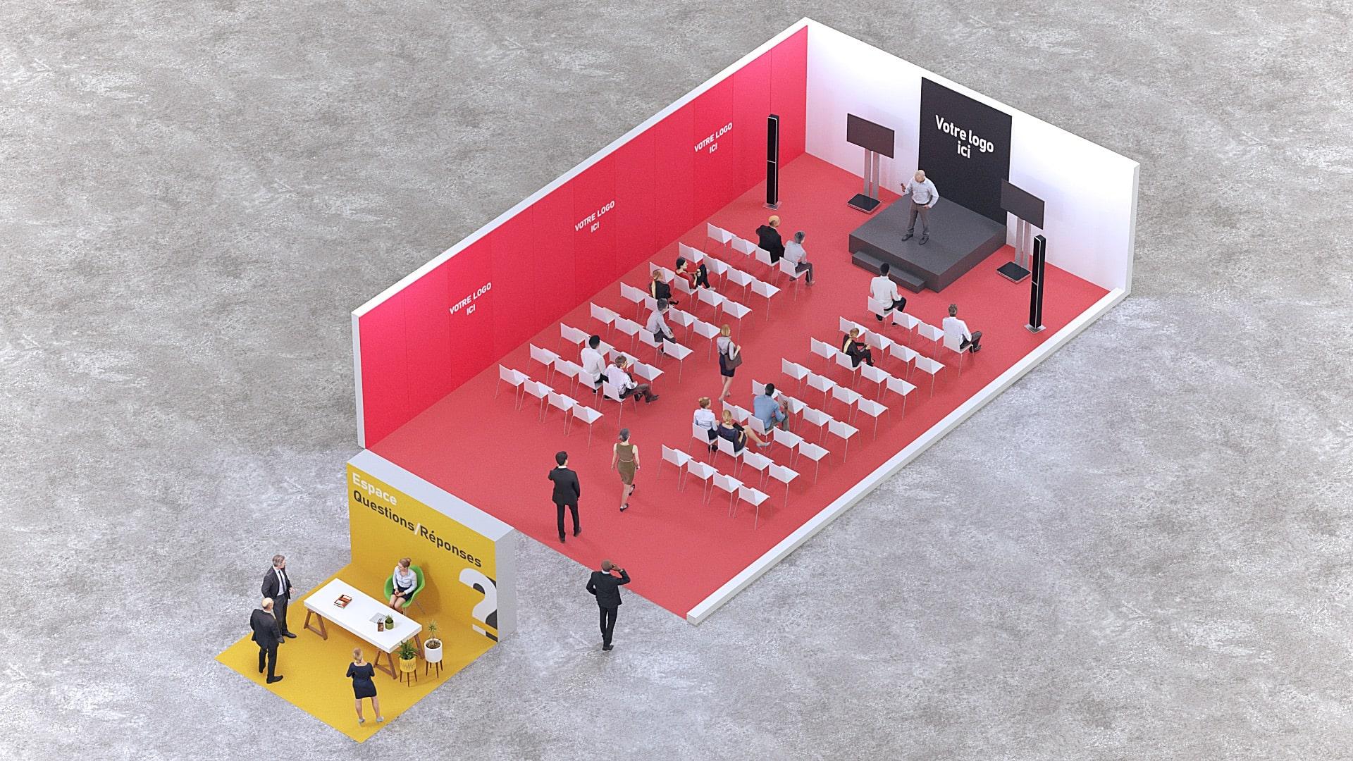 Inauguration entreprise - Conférence de presse