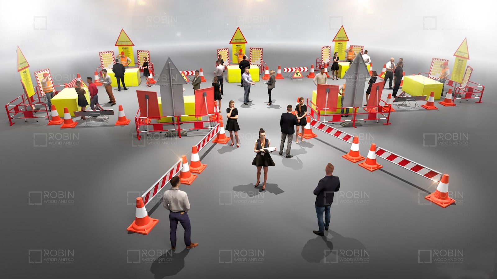 Organiser des portes ouvertes - chantier de construction BTP