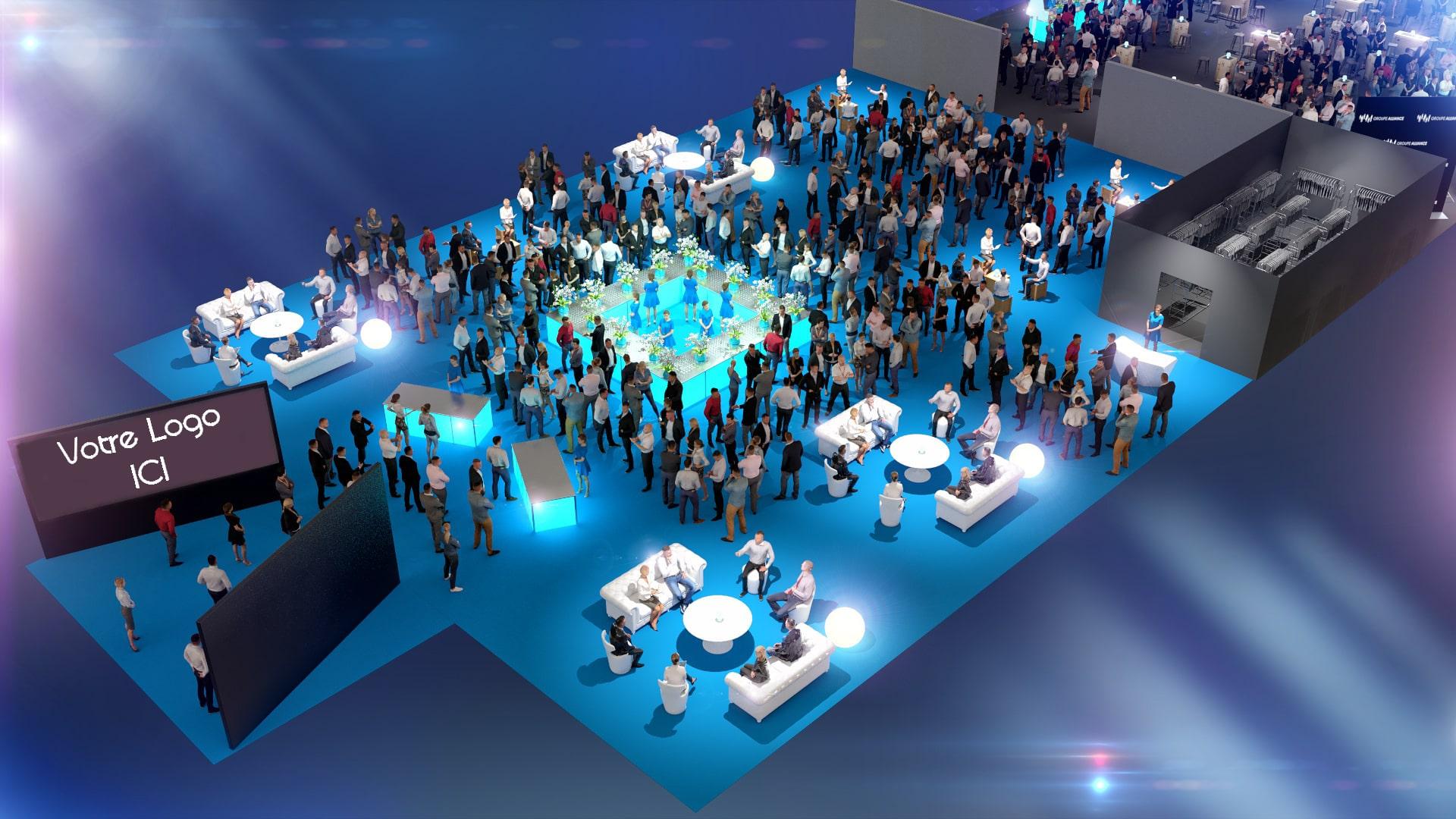 Inauguration entreprise - événementiel