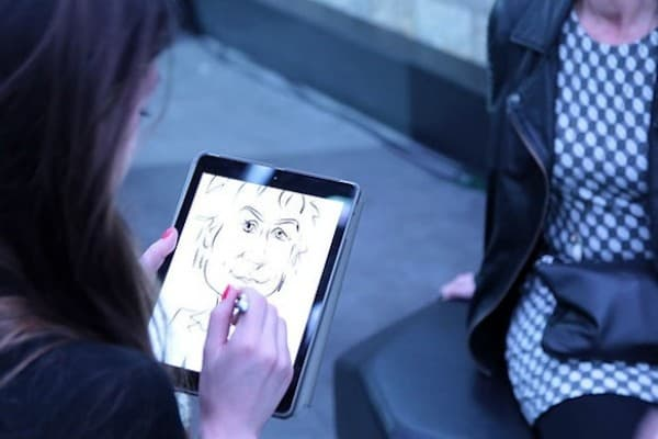 animation caricaturiste digitale