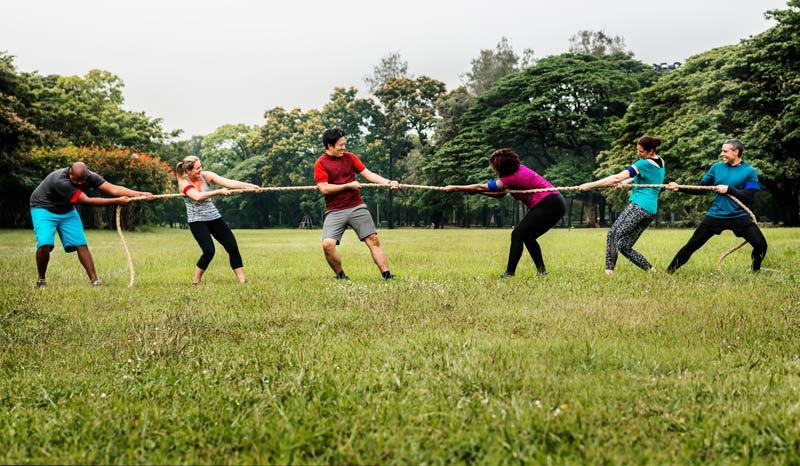 team building activité sportive
